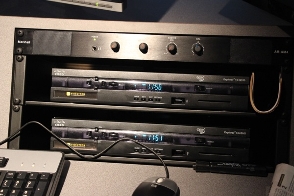 Videotron HD cable boxes for capturing TV signals