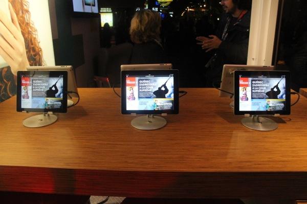 La Presse spent $40 million to develop its iPad app.