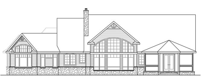 815001 Right & Rear Elevation