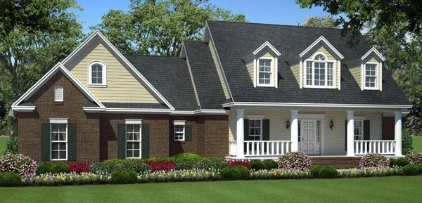 Ranch House Plans with Bonus Space