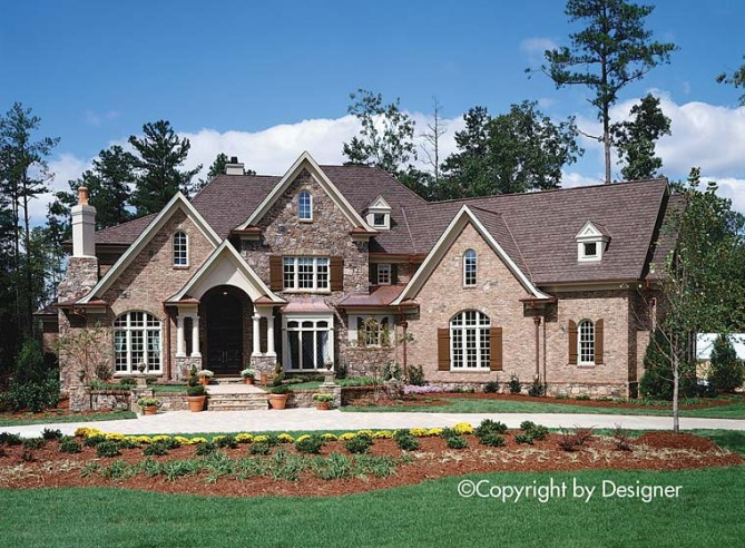 New Luxury House Plans