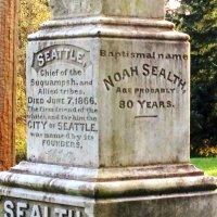 Chief Sealth's (Seattle) Grave