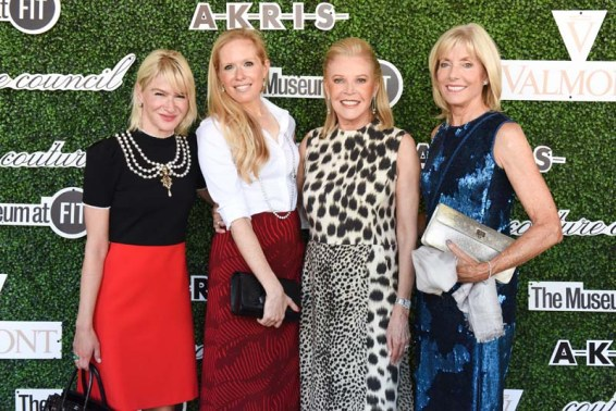 Julie Macklowe, Lisa Klein, Audrey Guss, Liz Peek