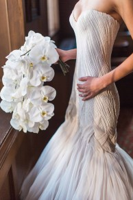 Flora Nova Design Seattle - Orchid Wedding at the Rainier Club. phalaenopsis orchid bridal bouquet