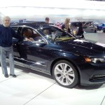 Bruce With Impala at 2013 Chicago Auto Show