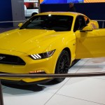 new Mustang at 2014 Chicago Auto Show