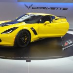 new Corvette at 2014 Chicago Auto Show