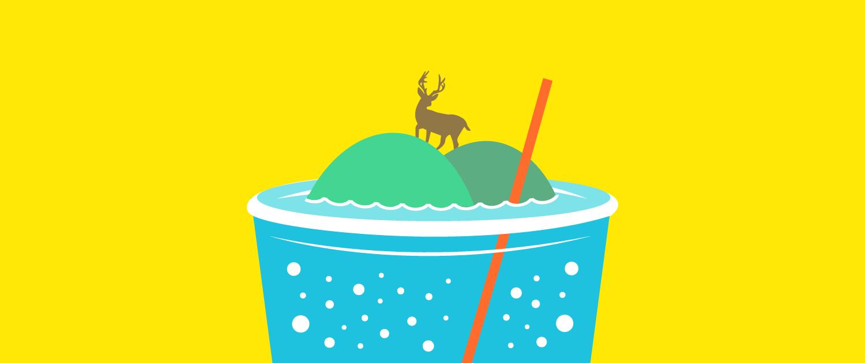 Lussa Gin illustration