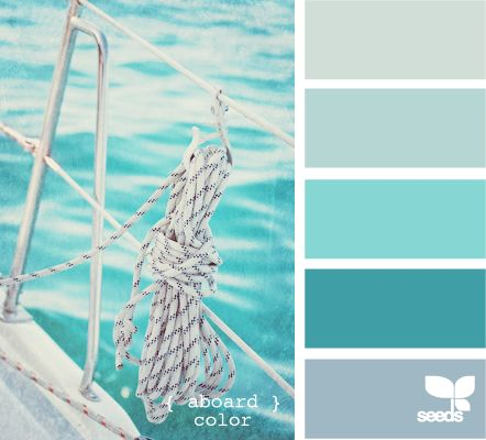 Coastal nautical decor ideas froy blog for Ocean blue color combinations
