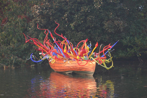 Chihuly Boat