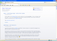 ie7 displaying an rss feed