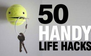 50 Handy Life Hacks