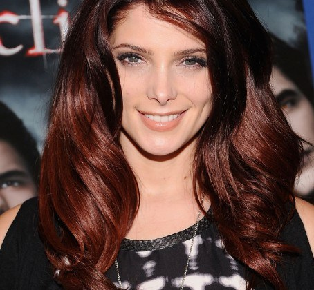 Layered-Red-Ombre-Hair
