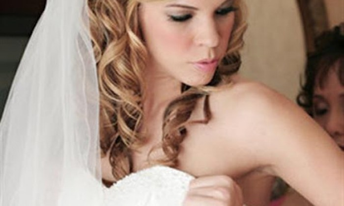 bridal look and style