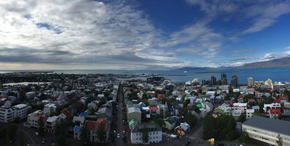 vista da cidade do alto da igreja