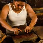 This is how chocolate is made by hand