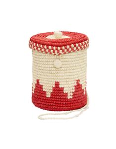 Bolsa Bucket Toquilla Vermelha