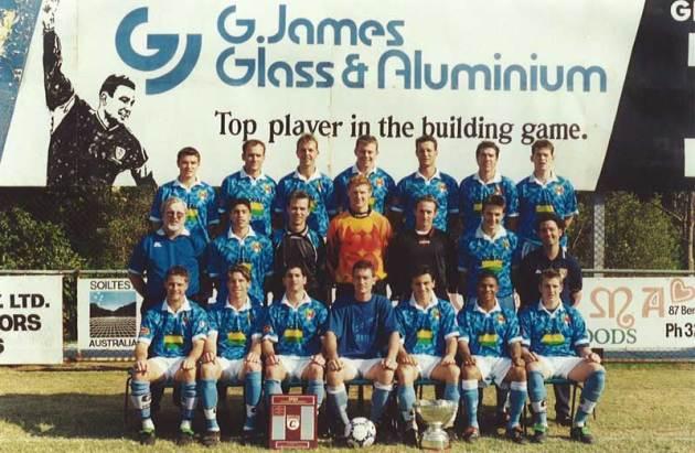 BCFC Sponsorship banner circa 1980