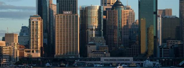 A new building adorns the Sydney skyline.