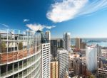 The 1 Blight Street Atrium has stunning views over the Sydney skyline.