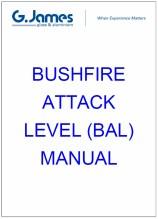 Bushfire risk assessment - BAL rating