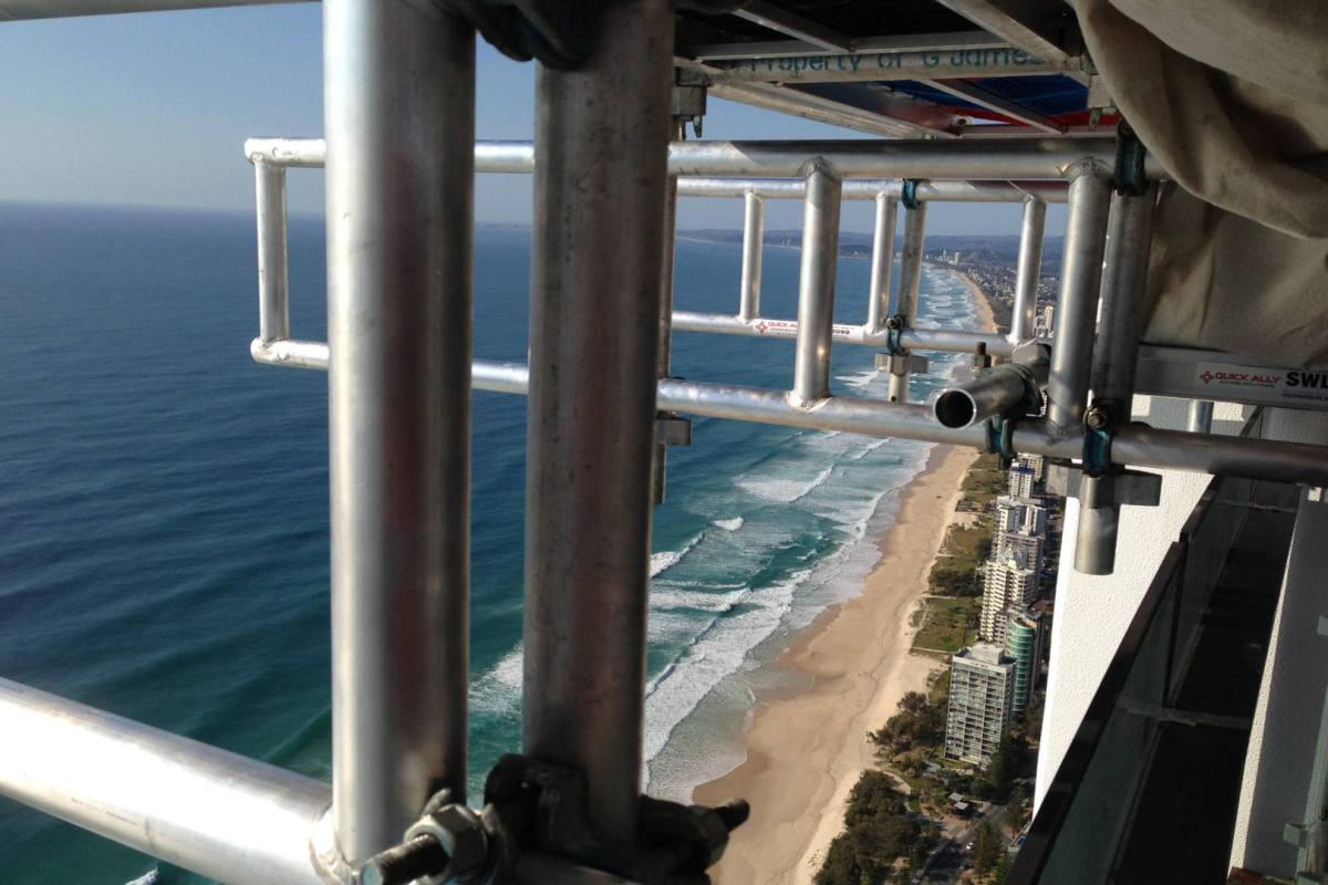 Glazing on the Soul Apartments, Surfers Paradise