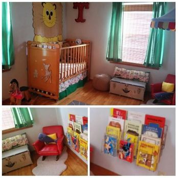 Proof-kids-rooms-can-be-fun-and-retro-retrochina-vintagecrib-midcenturyliving-midcenturynursery-retr