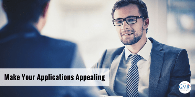 Make Your Applications Appealing