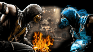 mortal_kombat_x_wallpaper_scorpion_vs_sub_zero_by_preslice-d7l48ep