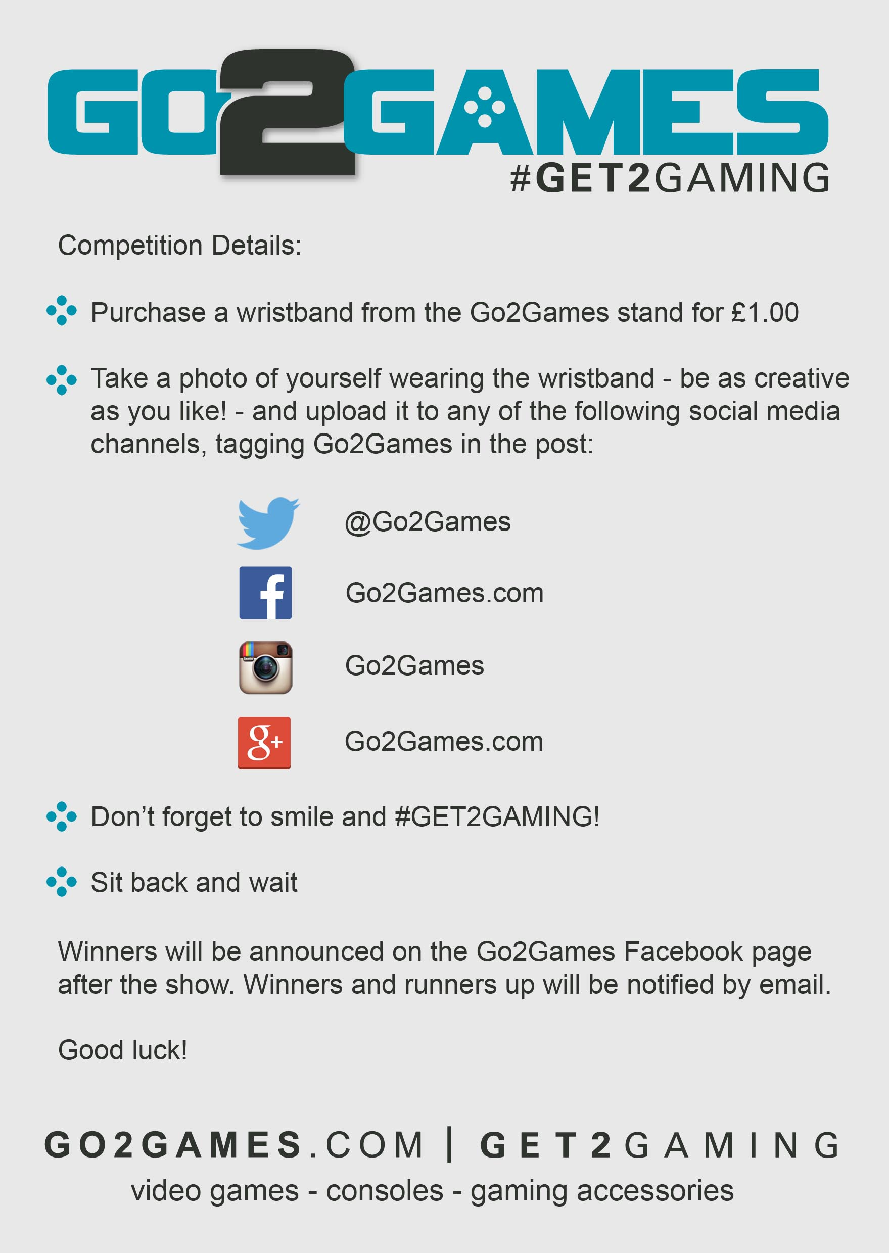 Go2Games London Comic Con Competition (2)