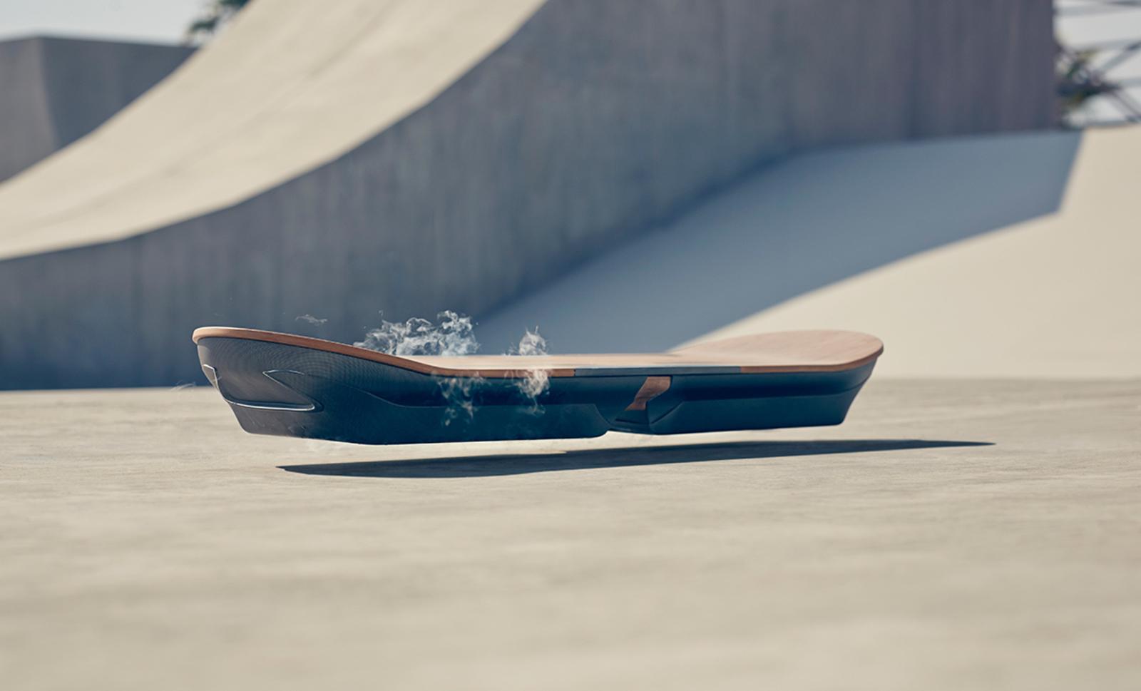 Lexus' Special Hoverboard Skate Park