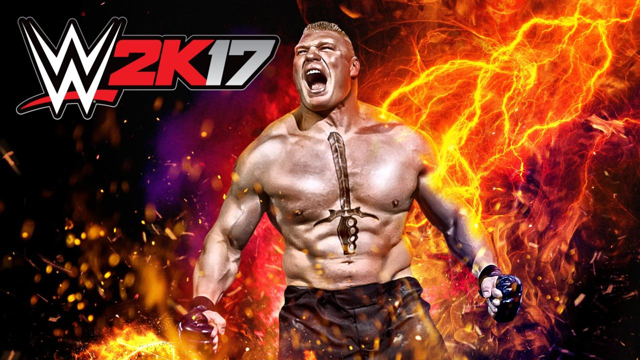 WWE 2K17 Brock Lesnar Entrance Revealed. WATCH BELOW