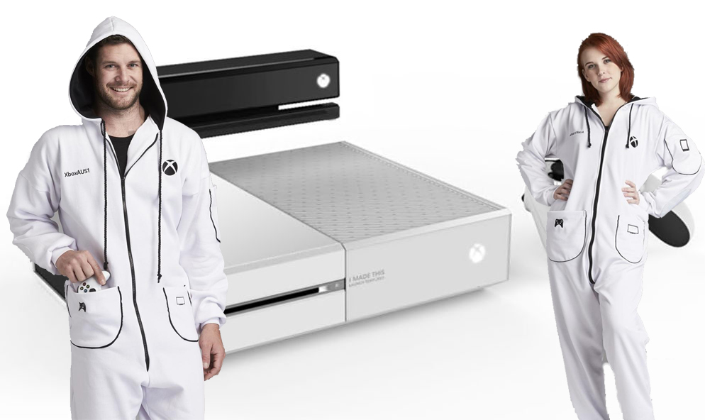 XBOX ONESIE: Revealed by Microsoft