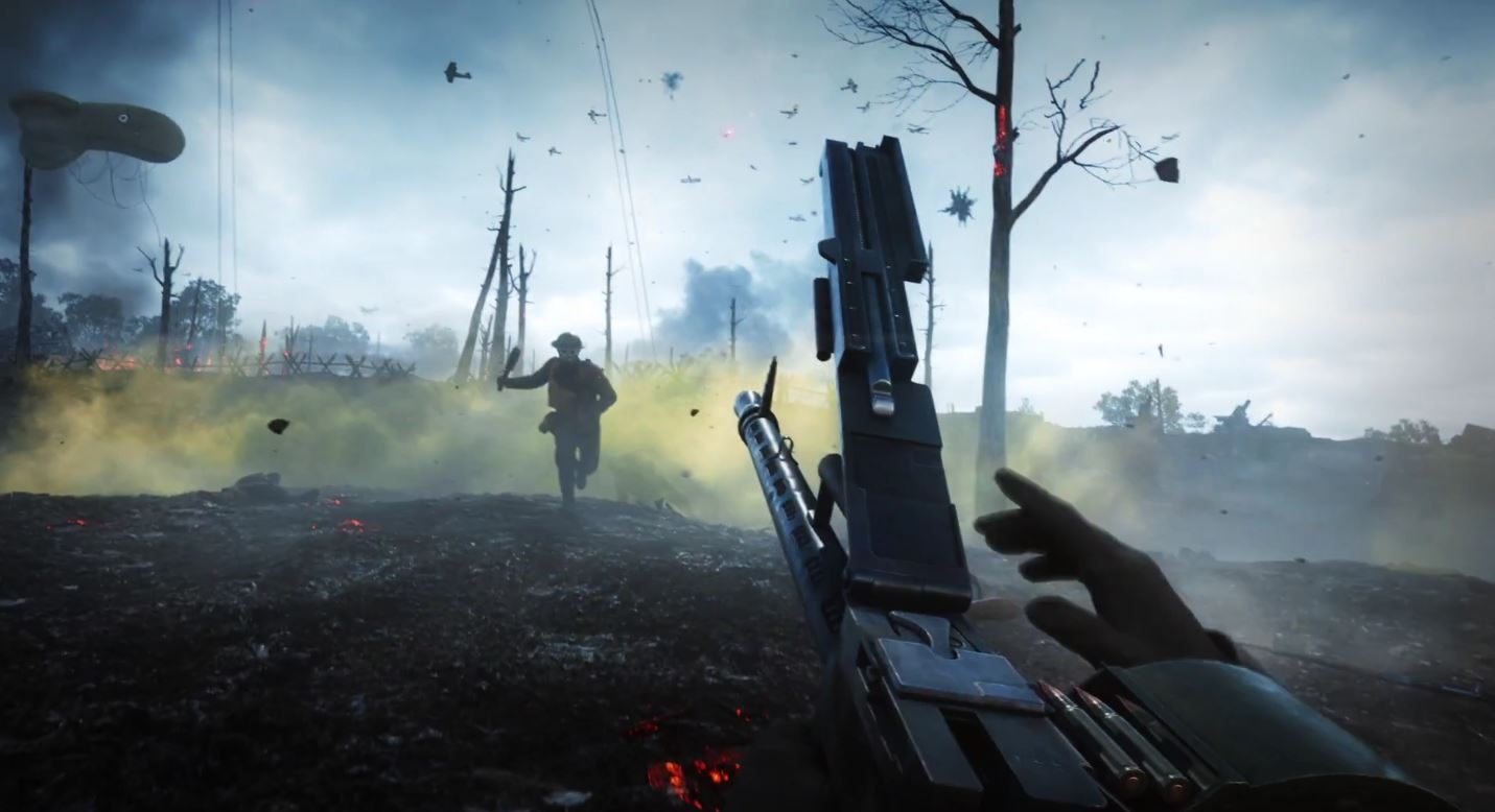 Battlefield 1 released on all major consoles October 21st