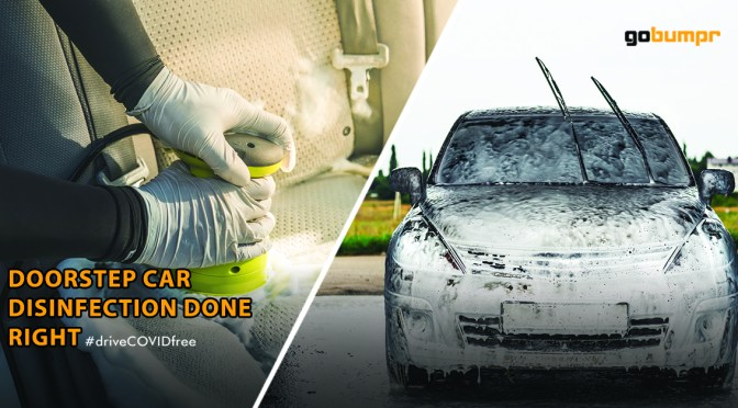Doorstep Car Disinfection Done Right