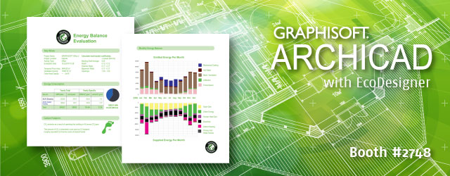 Go Green at Greenbuild 2013 with GRAPHISOFT