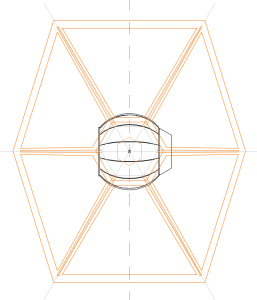 ArchiCAD TIE Fighter