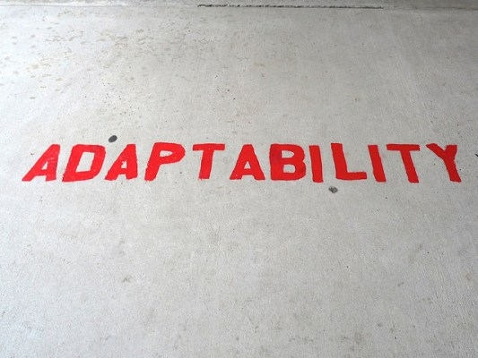 Adaptability Creative Commons via Nicole Yeary