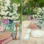 Handmade Vintage Wedding Table Decorations