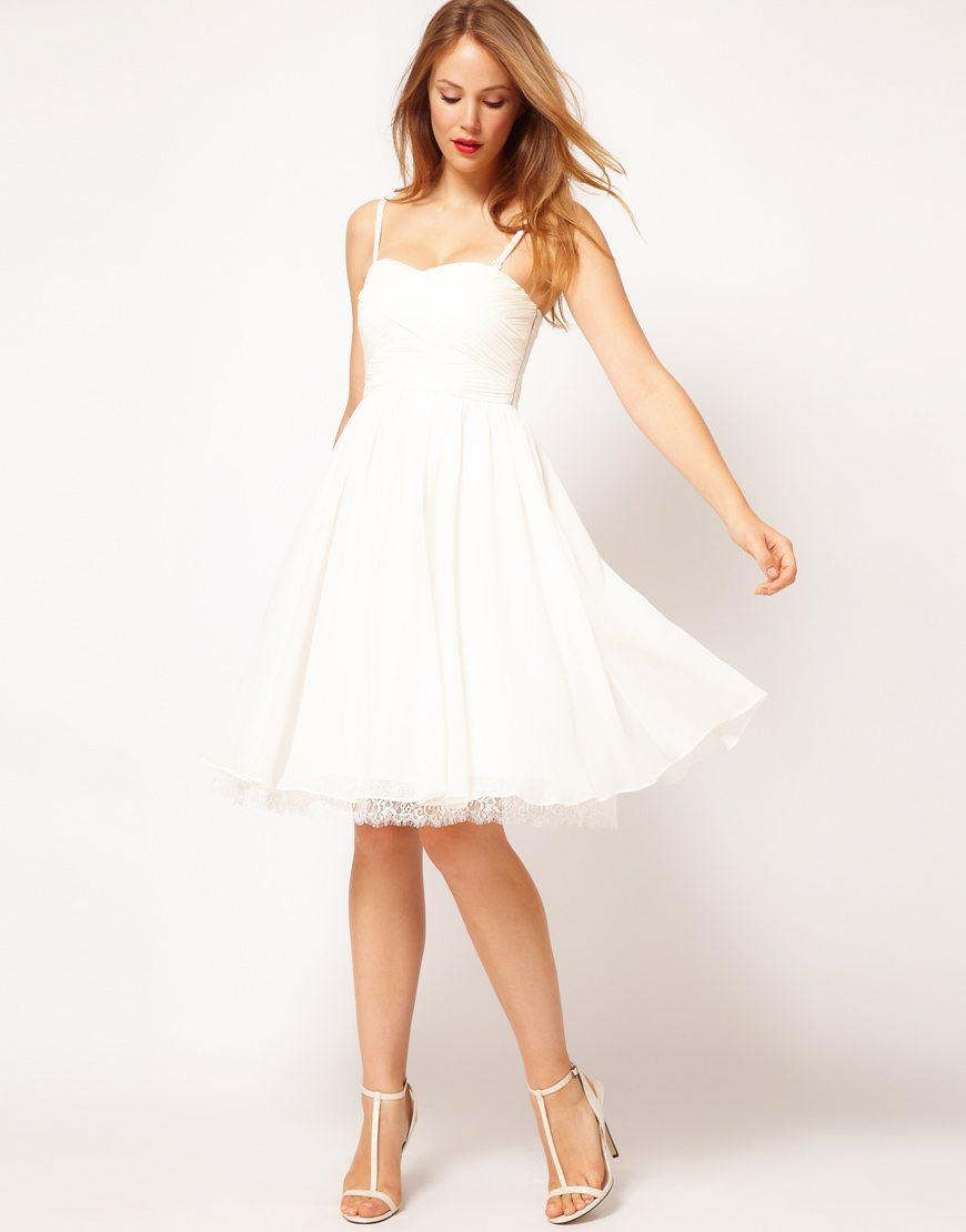 robe de mariée mairie fluide - Happy Chantilly