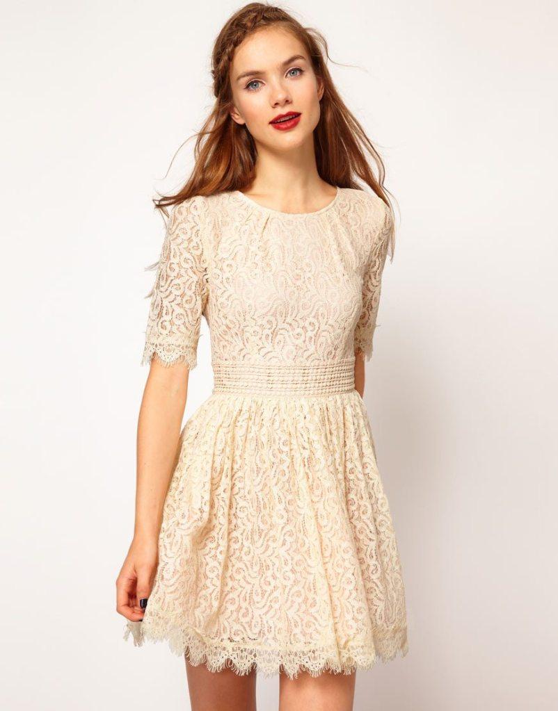 Jolies robes de mariée pour la mairie - Happy Chantilly