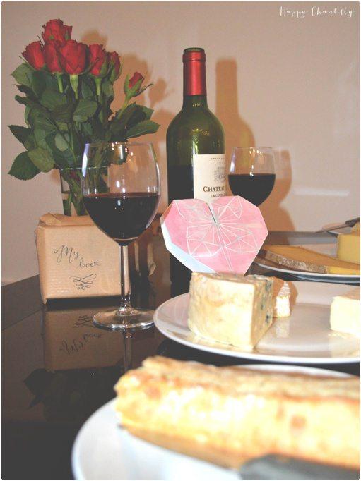 id e de soir e simple en amoureux notre soir e de saint valentin happy chantilly. Black Bedroom Furniture Sets. Home Design Ideas