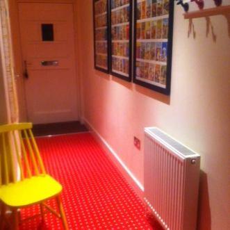 Red spot flooring