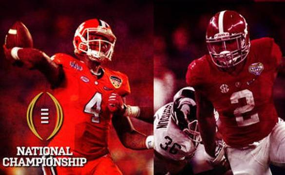 Clemson vs Alabama National Championship