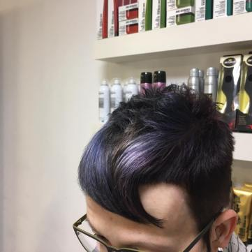 Metallic Haartrend - der besondere Glanz
