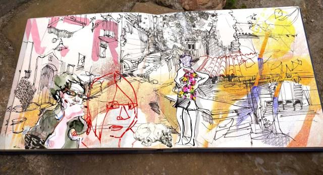 Wimmelbild, Karin Schliehe,Blog.Herz-der-Kunst.ch