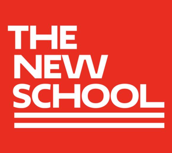 The New School, Pentagram, Custom Typography