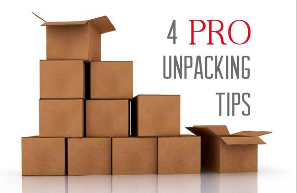 4 Pro Tips For Unpacking After Your Move