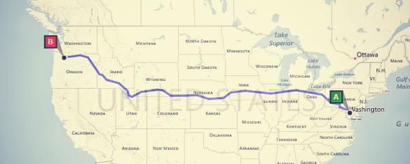 2500 Mile Move Map Screenshot
