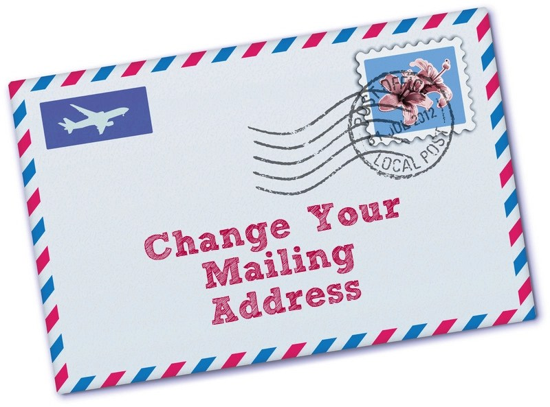 How To Change Your Mailing Address